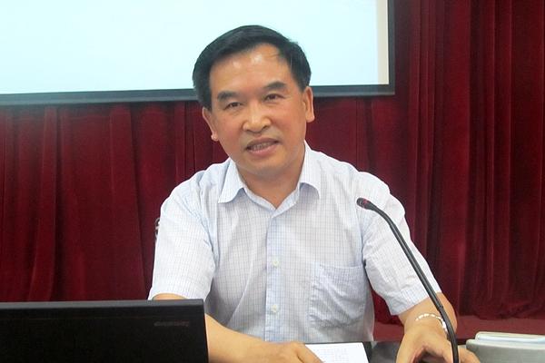 长安大学杜向民教授为我校师生阐释中国梦